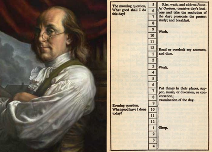 Even Ben Franklin does it.. so, why wouldn't you?