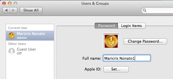 Create admin user on Mac OS X as root