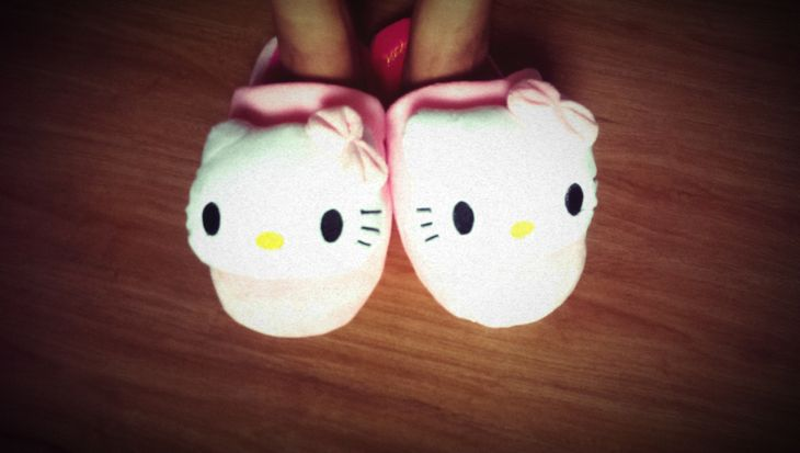 My Hello Kitty Bedroom Slippers